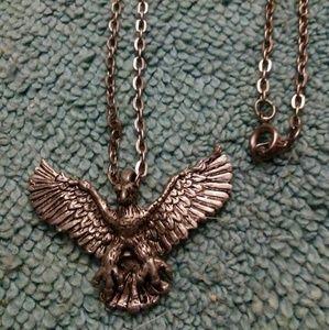 Eagles steel Necklace